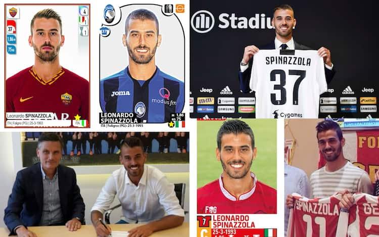 Inter, Spinazzola, presentazioni e figurine: nove squadre diverse ...