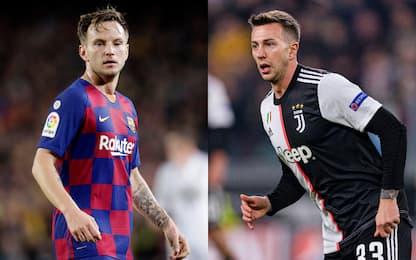 Spagna: Juve-Barça, idea scambio Rakitic-Berna