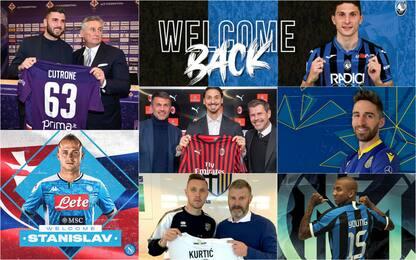 Calciomercato 2020: acquisti ufficiali di gennaio