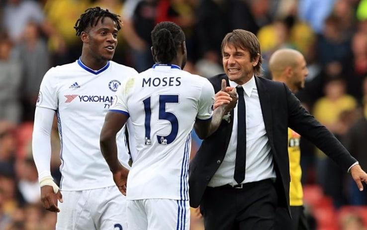 Moses è rinato con Conte al Chelsea. Ora i due si ritrovano all'Inter