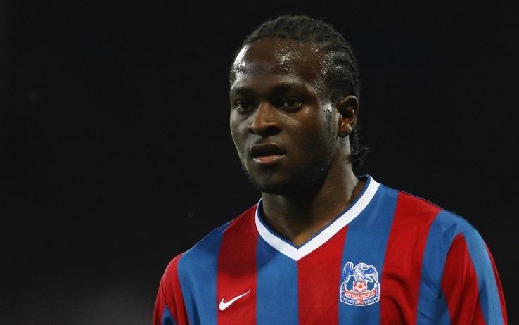 Moses con la maglia del Crystal Palace