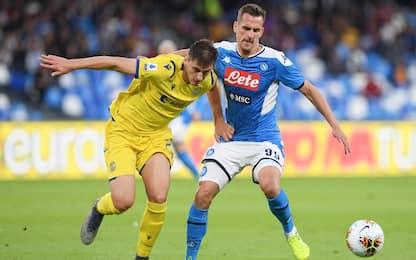 Napoli, accordo con il Verona per Kumbulla