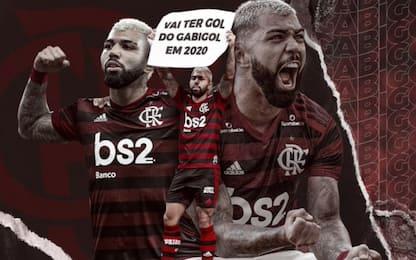 Gabigol al Flamengo, ufficiale l'addio all'Inter