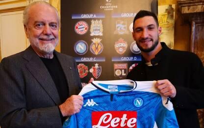 Napoli, ufficiale l'arrivo di Politano dall'Inter