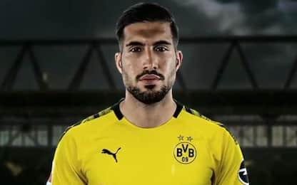 Borussia Dortmund, ufficiale l'arrivo di Emre Can