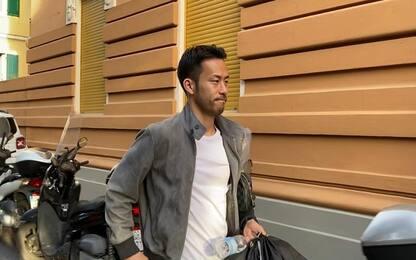"""Samp, visite per Yoshida: """"Felice di essere qui"""""""