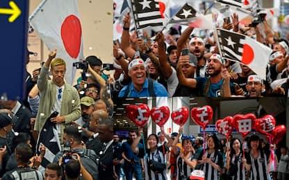 Honda superstar, tifosi Botafogo in delirio. FOTO