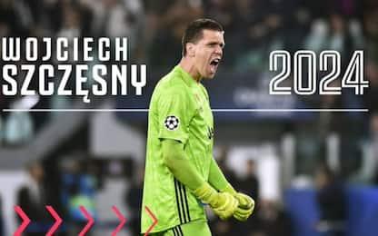 Szczesny rinnova con la Juve: accordo fino al 2024