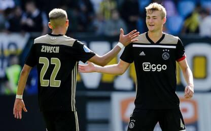 Ajax, cessioni record: Ziyech sul podio. La top 25