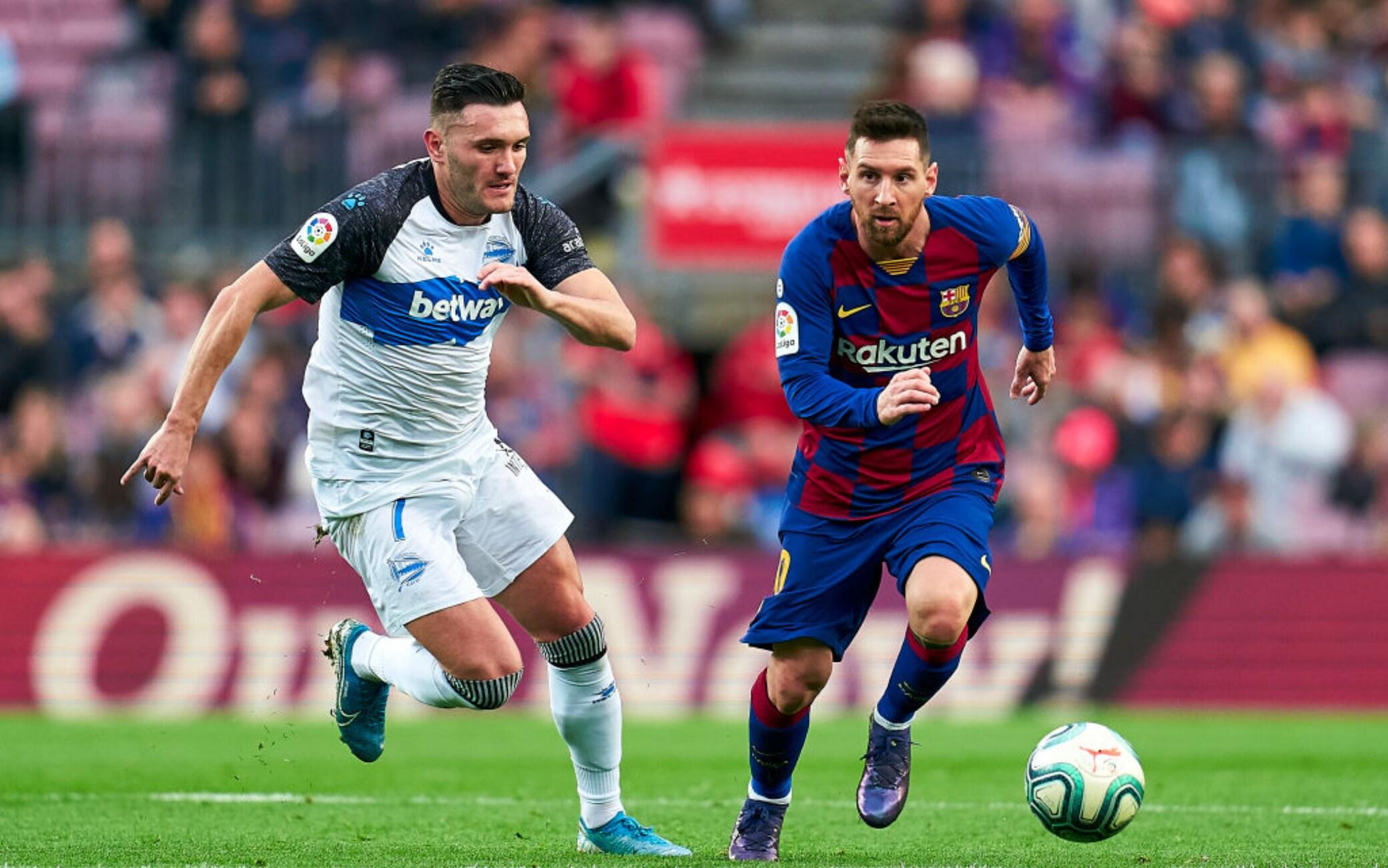 Lucas Perez e Messi