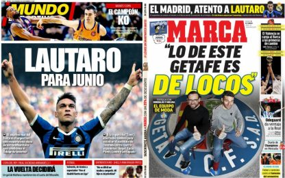 Dalla Spagna: Real Madrid e Barcellona su Lautaro