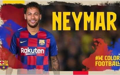 Il Barça annuncia Neymar: ma è un attacco hacker