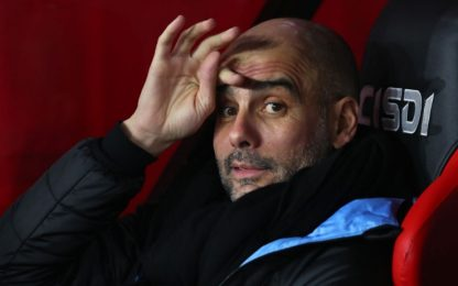 "Guardiola ai giocatori del City: ""Resto"""