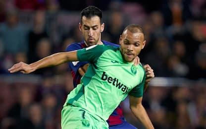 Il Barça ha il suo attaccante: vicino Braithwaite