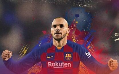 Barça, ufficiale Braithwaite: clausola da 300 mln