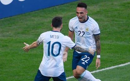 """Messi chiama Lautaro al Barça: """"È spettacolare"""""""