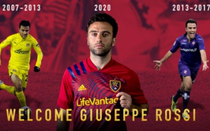Rossi in MLS: ha firmato col Real Salt Lake