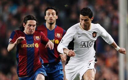 Valori di mercato del 2008: inizia l'era Messi-CR7