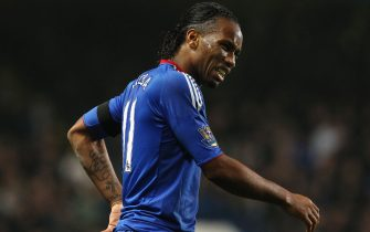 LONDON, UNITED KINGDOM - DECEMBER 29:  Didier Drogba of Chelsea reacts during the Barclays Premier League match between Chelsea and Bolton Wanderers at Stamford Bridge on December 29, 2010 in London, England.  (Photo by Clive Rose/Getty Images)