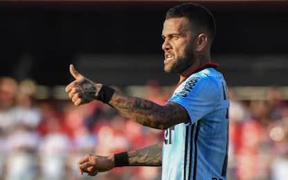 """Dani Alves: """"Non sarebbe male chiudere al Boca"""""""