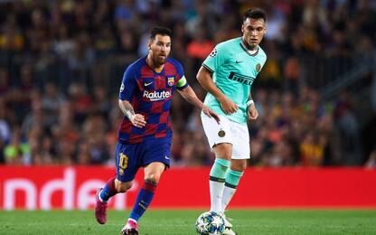 """Setien: """"Lautaro un grandissimo. E Messi lo vuole"""""""