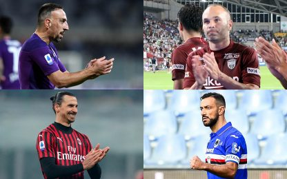 Over-36 più costosi: Ibra dopo Ribery. CLASSIFICA