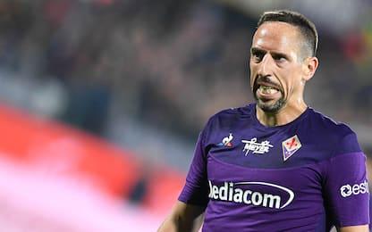 """Frey: """"Ho parlato con Ribery, non lascia Firenze"""""""