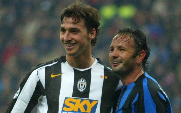 Zlatan e Sinisa, prima avversari in campo, poi assieme all'Inter