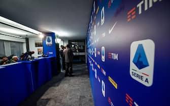 Milano, assemblea Lega Calcio