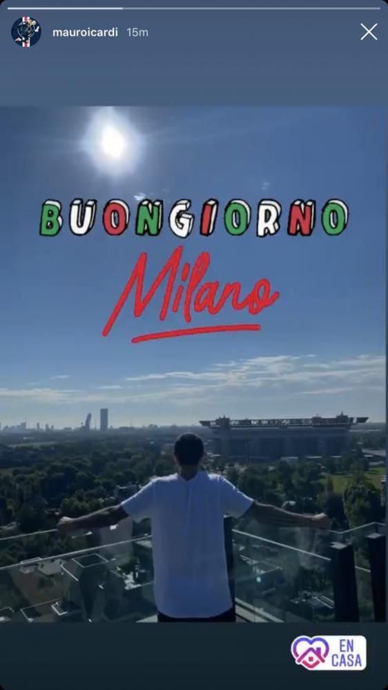 Icardi a Milano