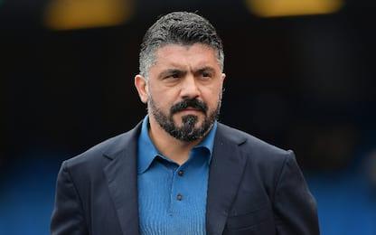 """Gattuso: """"Vogliamo regalare una gioia a Napoli"""""""