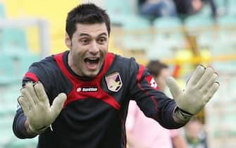 Davide Anastasi14-12-2008 Palermo ( Italia)Sport CalcioPALERMO-SIENA -Campionato Tim Serie A 2008-2009Nella foto:    marco  amelia