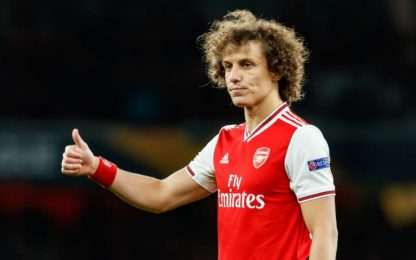 Arsenal, David Luiz rinnova fino al 2021