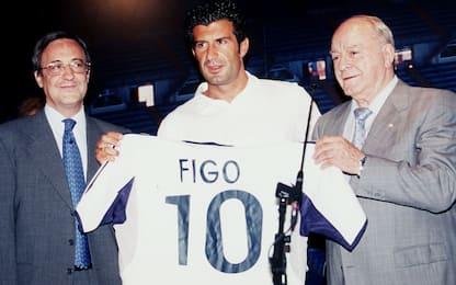 Da Figo a Joao Felix, i colpi record anno per anno