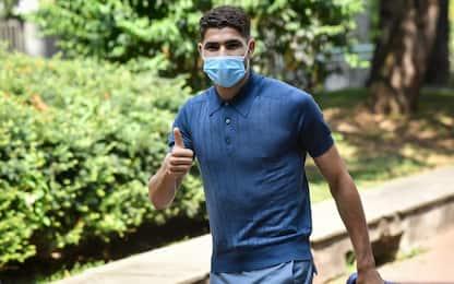 Hakimi ha firmato per l'Inter: contratto di 5 anni