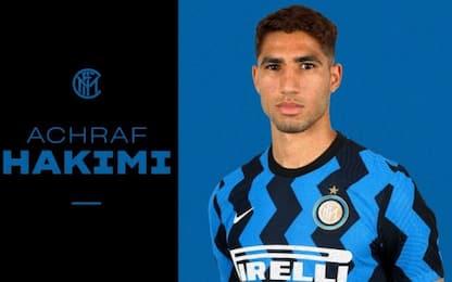 Inter, Hakimi è ufficiale: contratto fino al 2025