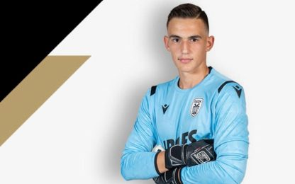 Inter, preso il giovane portiere Nikolaos Botis