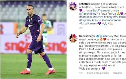 """Ribery: """"Non torno indietro, io Viola per sempre"""""""