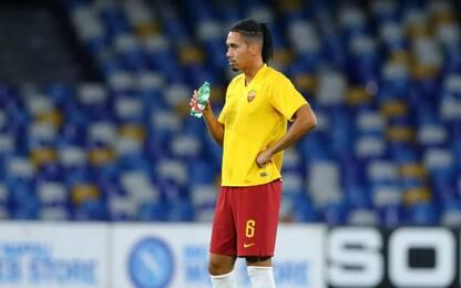 Roma-Smalling, manca l'intesa con lo United