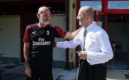 """Gazidis: """"Milan senza limiti, Pioli straordinario"""""""