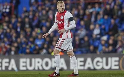 Van de Beek-United, intesa totale: all'Ajax 39 mln