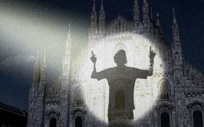 Messi proiettato sul Duomo... ma è solo pubblicità