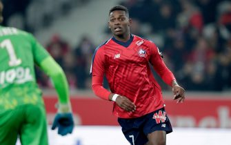 LILLE, FRANCE - JANUARY 18: Rafael Alexandre Da Conceicao Leao of Lille  during the French League 1  match between Lille v Amiens SC at the Stade Pierre Mauroy on January 18, 2019 in Lille France (Photo by Jeroen Meuwsen/Soccrates/Getty Images)