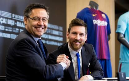 """Bartomeu: """"Messi finirà la carriera al Barça"""""""