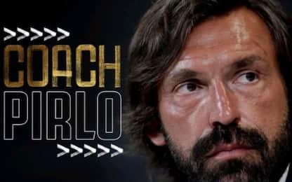 Pirlo è il nuovo allenatore della Juve