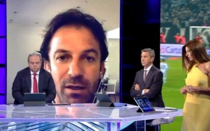 """Del Piero: """"Pirlo scelta sorprendente"""""""