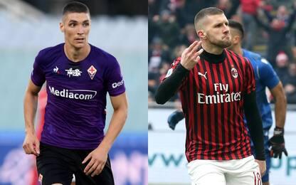 Il Milan insiste per Milenkovic. Accordo con Rebic