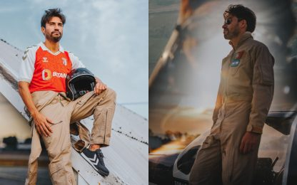 Gaitan come Tom Cruise: presentato stile Top Gun