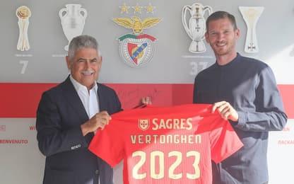 Vertonghen, niente Italia: firma col Benfica