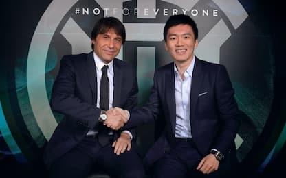"Conte resta all'Inter: ""Si prosegue insieme"""